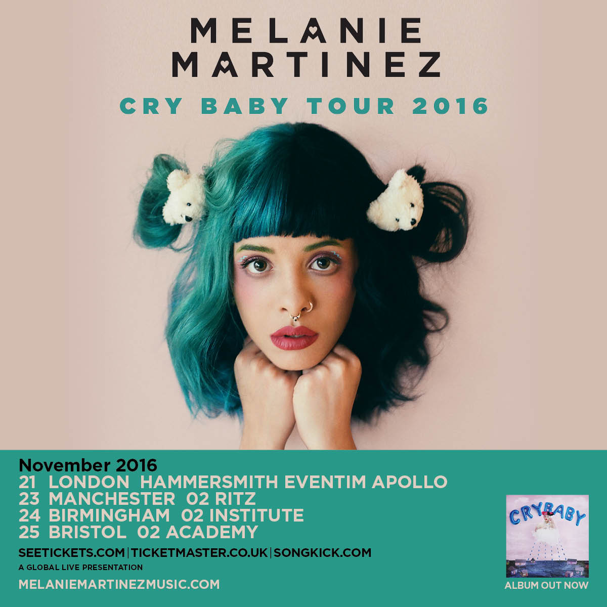 Melanie Martinez 2016 tour embargoed