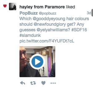 hayley williams tweet