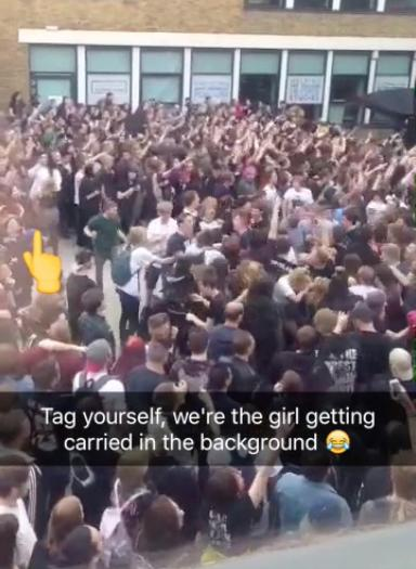 slam dunk crowd