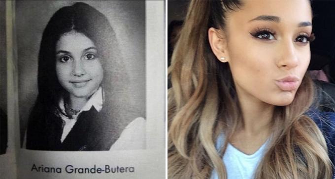 Ariana Grande Year Book Photo