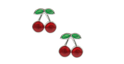 Claire's Cherry Earrings
