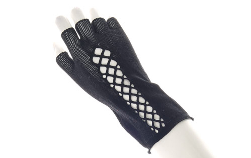 Claire's Fishnet Gloves