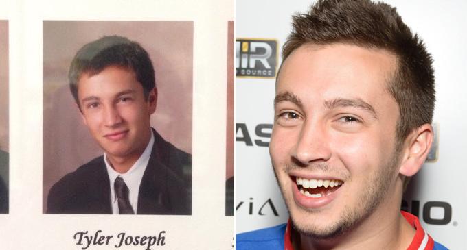 Tyler joseph Year Book Photo