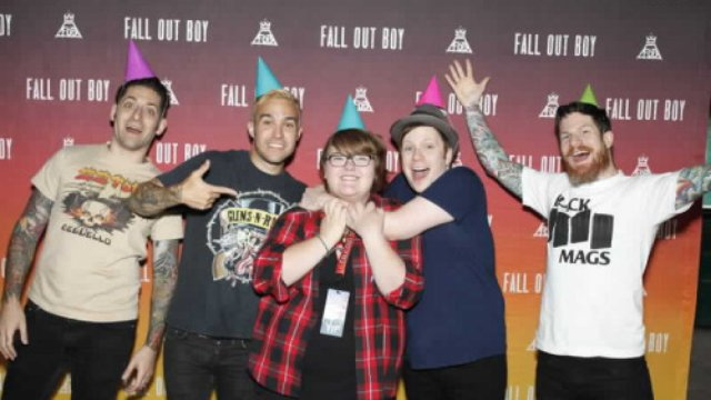 How much does it cost to meet and greet your faves popbuzz fall out boy meet m4hsunfo Image collections