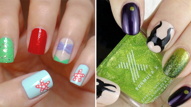 26 Ways To Paint Your Nails If Youre Totally Obsessed With Disney
