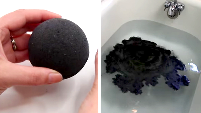 Someone Found Out How To Make The Black Bath Bomb Irl And
