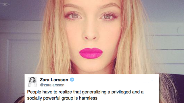 Zara Larsson Tweets Furious Response After Fan Was Sexually