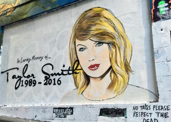 Taylor Swift Mural 1