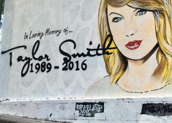Taylor Swift Mural 2
