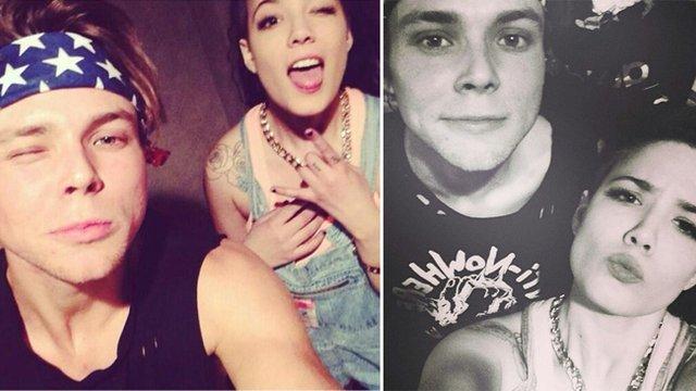 Halsey and ashton dating who