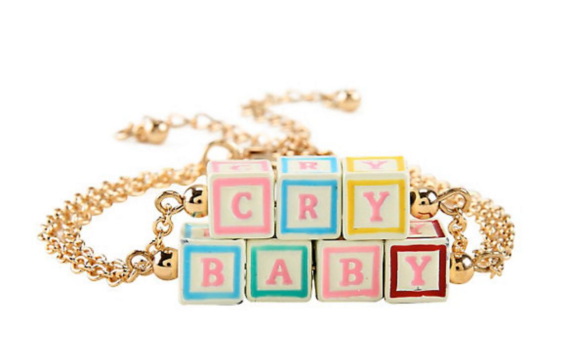 cry baby bracelet hot topic