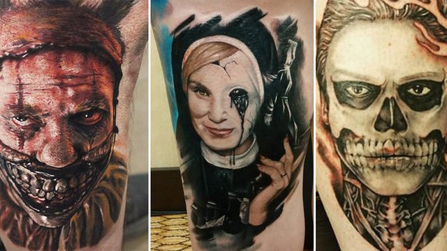11 American Horror Story Tattoos That Will Send You To The Asylum