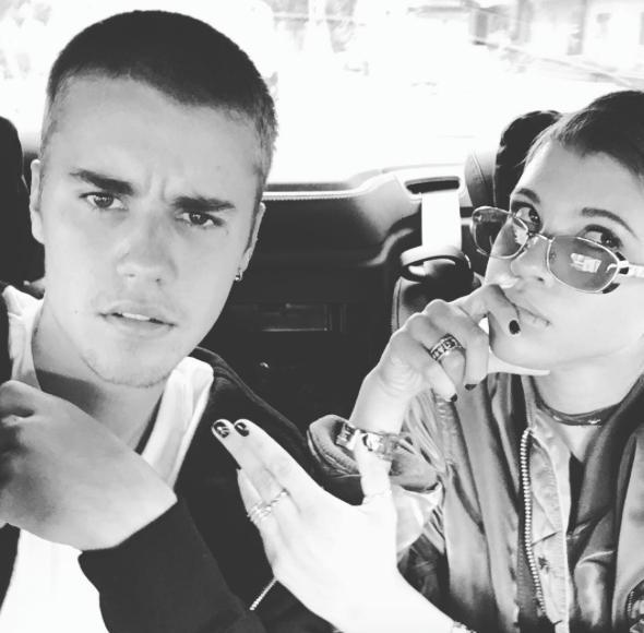 Justin Bieber Instagram Sofia Richie
