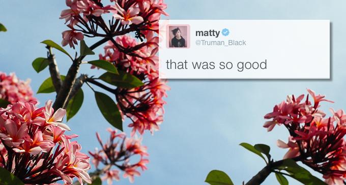 Matty Healy Funny Tweets