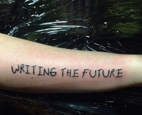 Paramore Future Tattoo Lyric