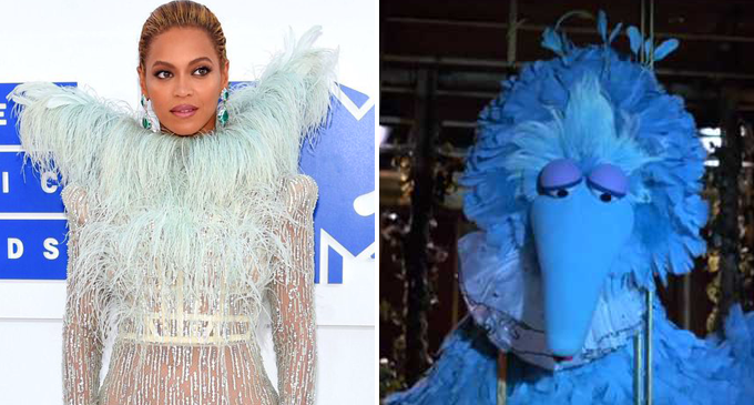 Beyonce Big Bird