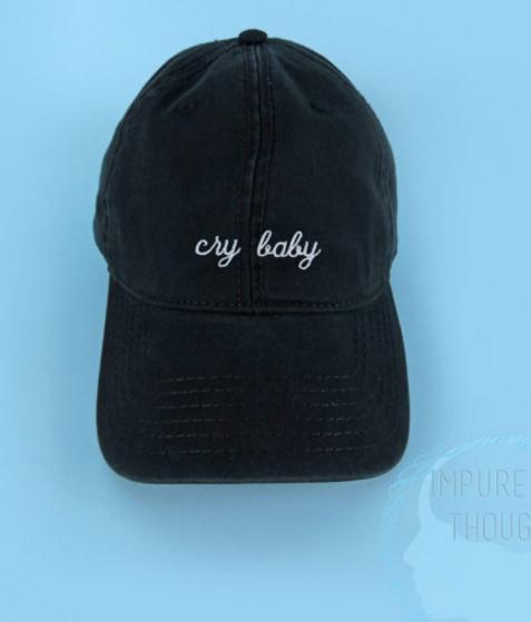 Cry baby hat