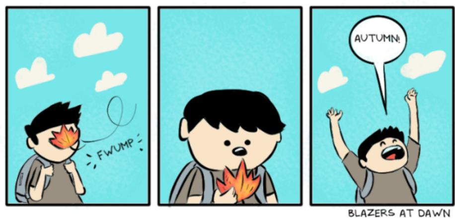 Autumn comic