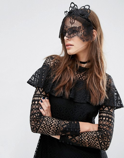 asos halloween head piece