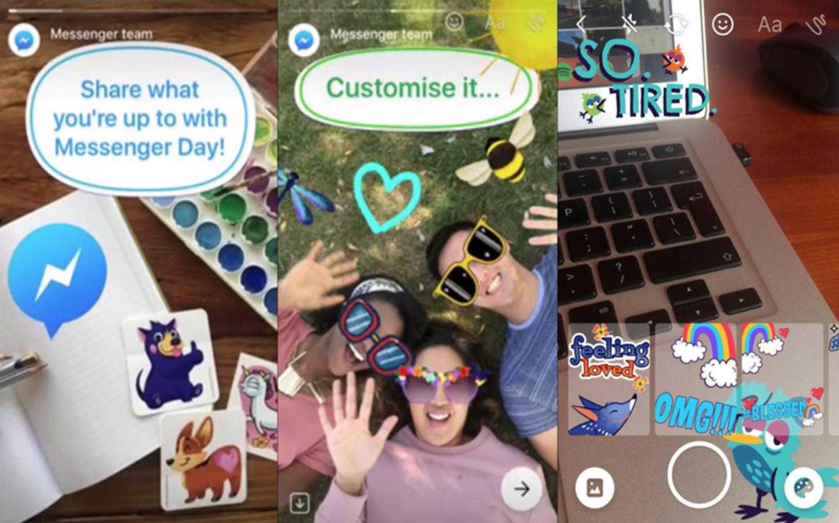 Messenger Day App