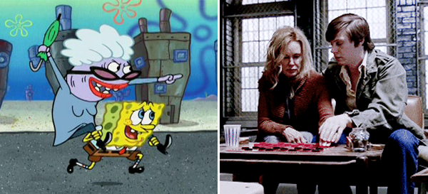 Evan Peters Spongebob Asylum