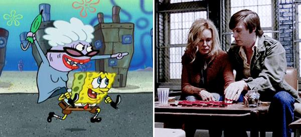 Evan Peters Spongebob Asylum