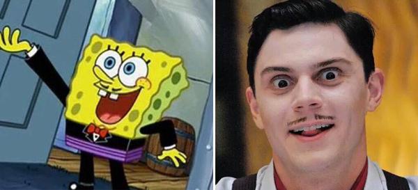 Evan Peters Spongebob Hotel