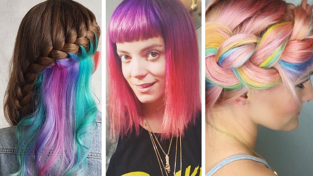 Hair Style Quiz: QUIZ: Which Colourful Hair Trend Should You Try Based On
