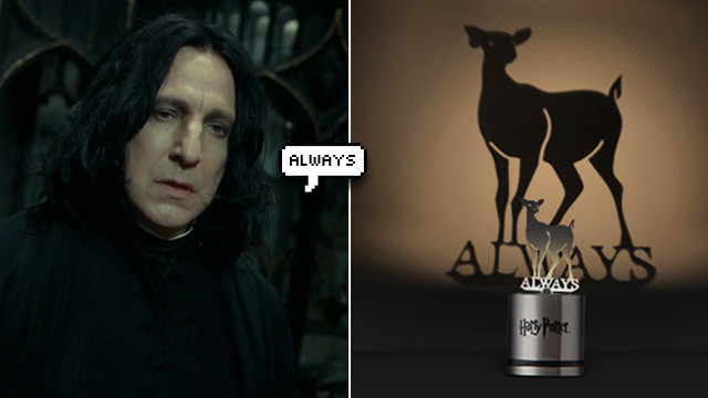 This Harry Potter Patronus Lamp Will Make You Sob Then Accio Your