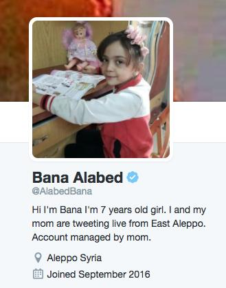 bana alabed twitter