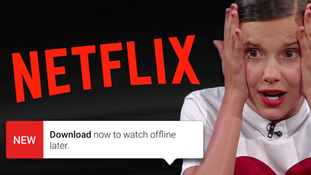 BREAKING: Netflix Now Lets You Download And Watch Your Fave