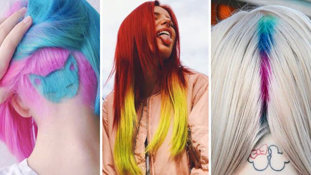 Quiz Which Insane Hair Colour Trend Should You Rock In 2017 Popbuzz