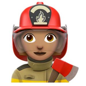 firewoman emoji