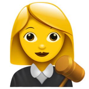 judge emoji