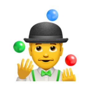 Juggler Emoji