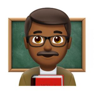 Teacher Emoji