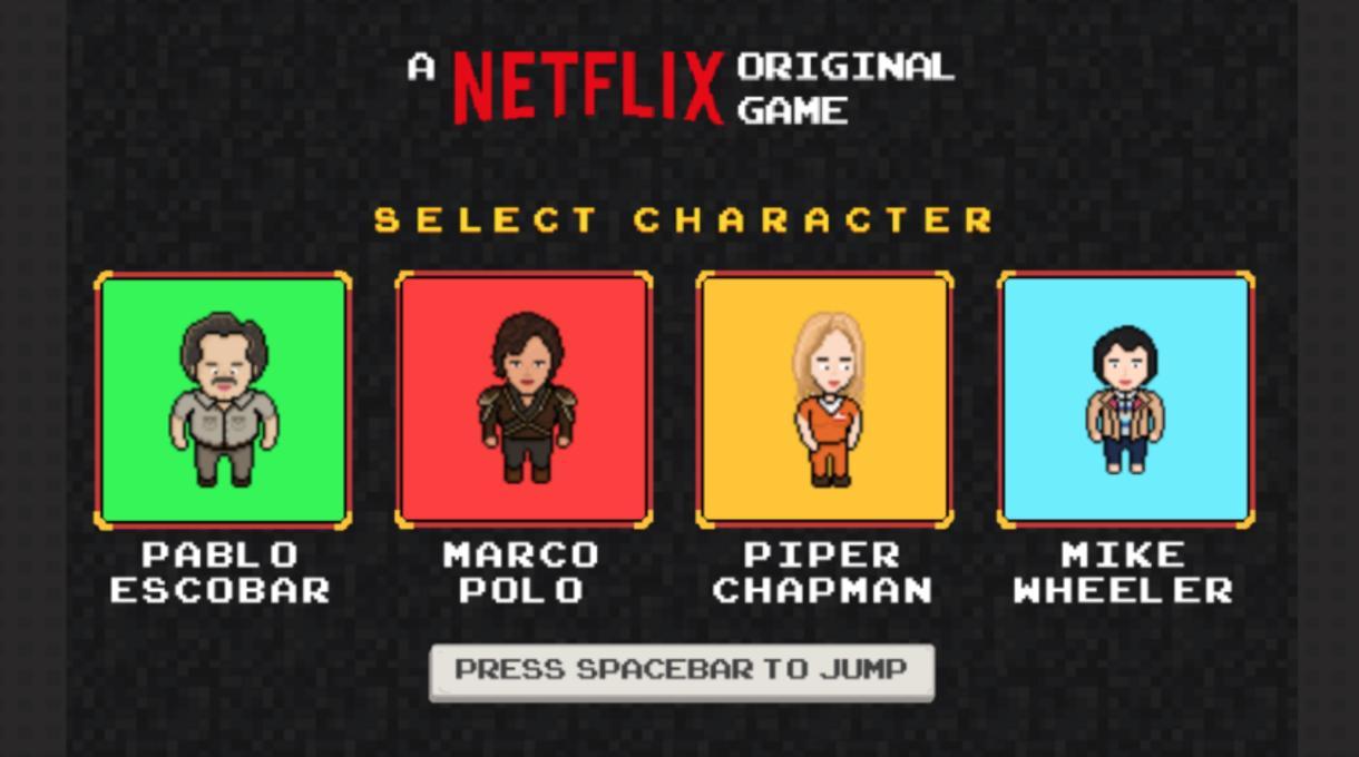 Netflix Original Game
