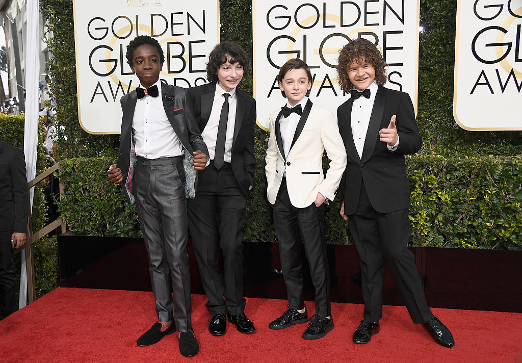 Stranger Things Kids Golden Globes