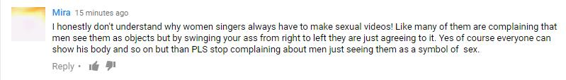 Little mix video comment