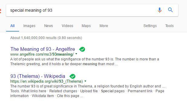 93 number