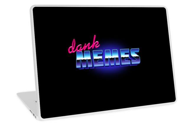 Dank Memes Laptop Sticker
