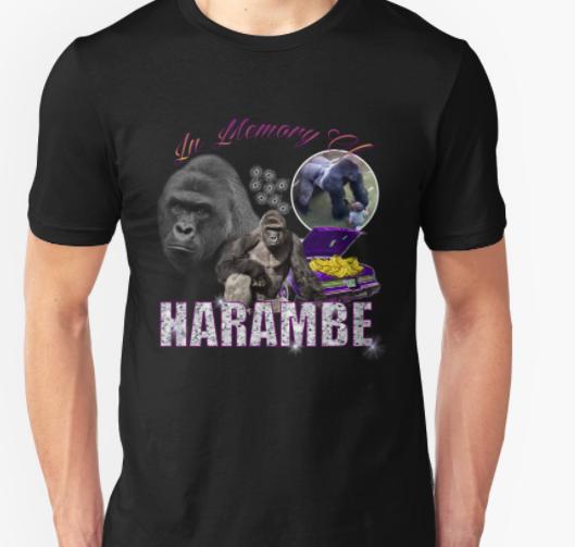 Harambe Memorial TShirt