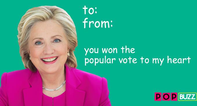 Hillary Valentine's Card