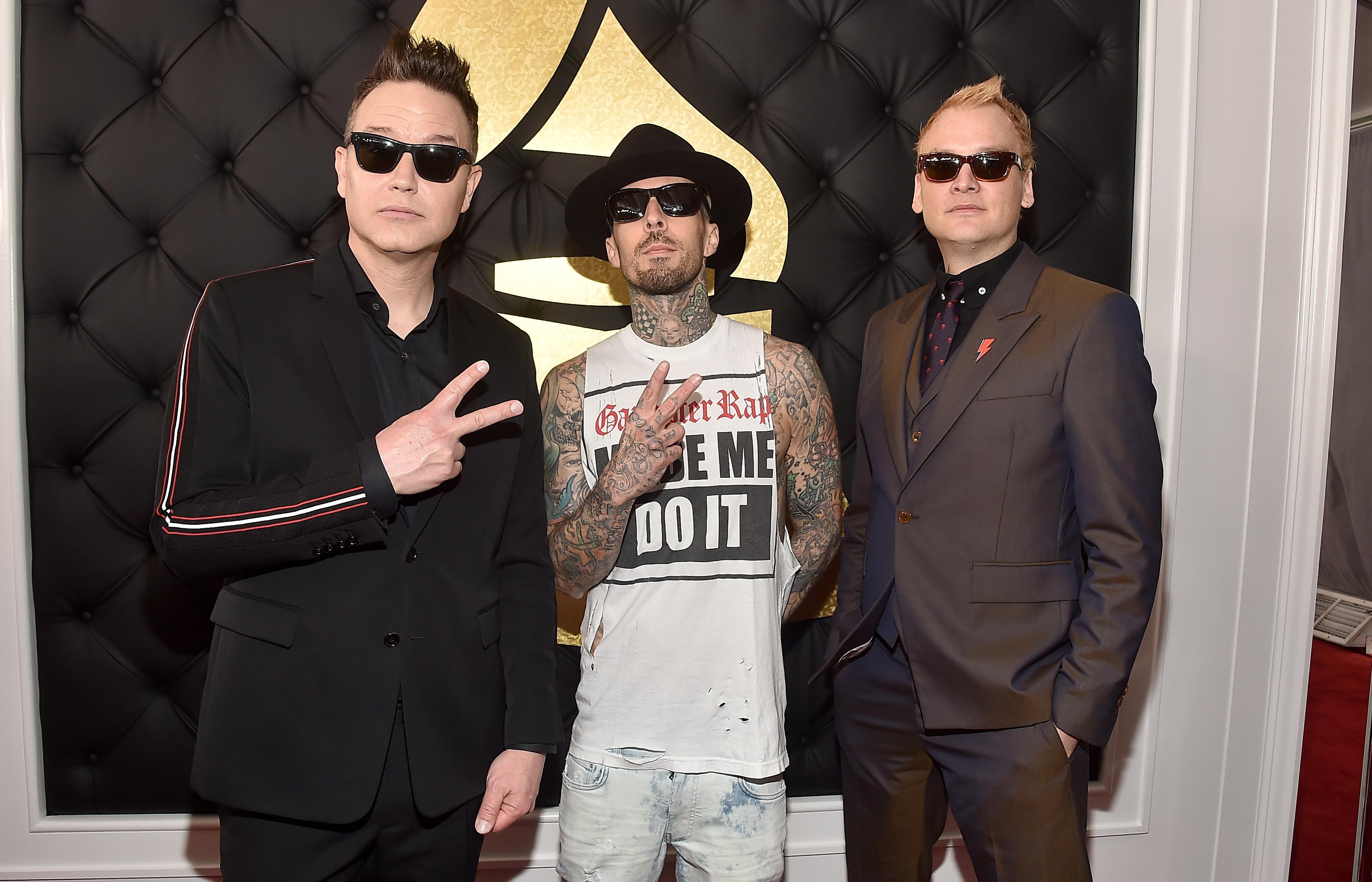 Blink 182 Grammys 2017