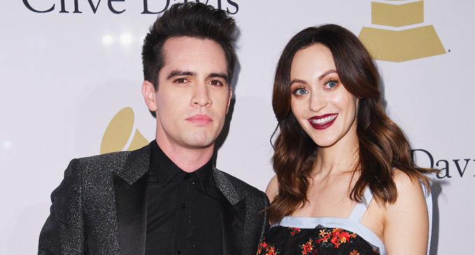 Brendon Urie Sarah Urie Grammy Pre-Party 2017