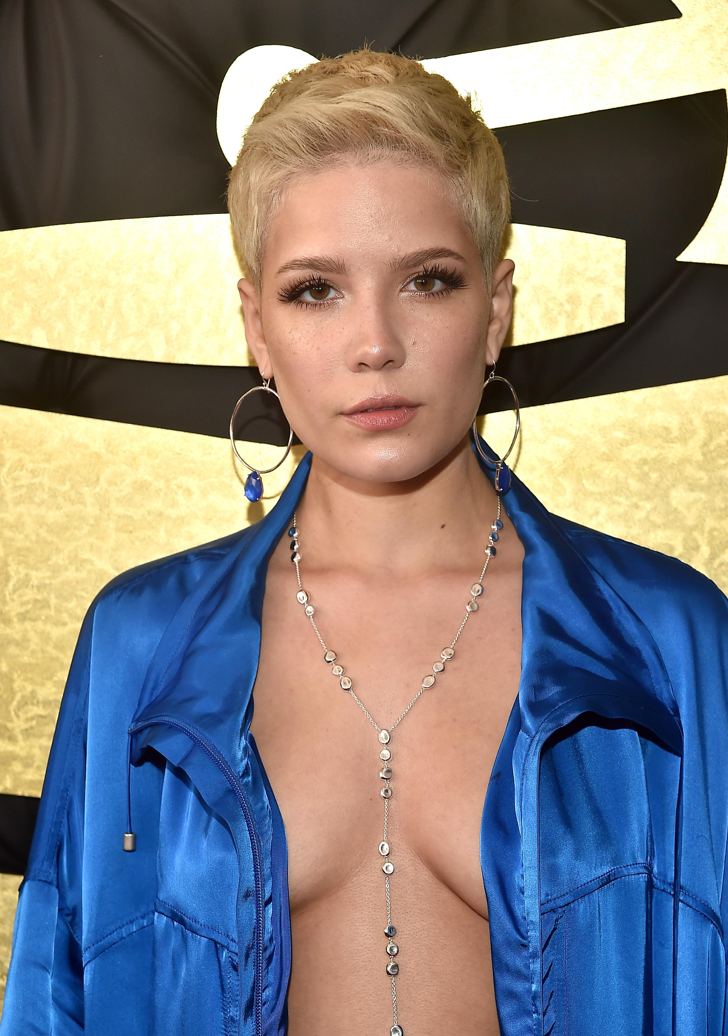 Halsey The Grammys 2017