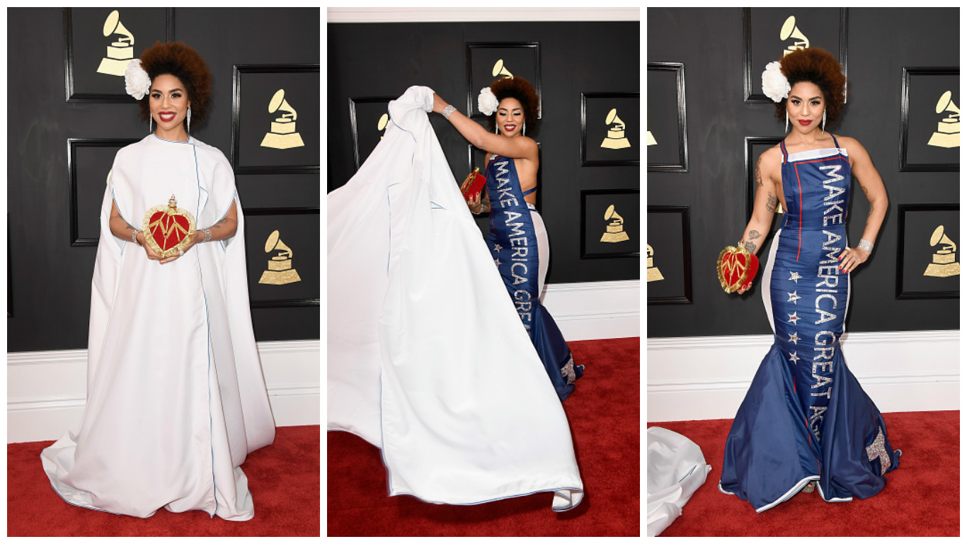 Joy Villa The Grammys 2017