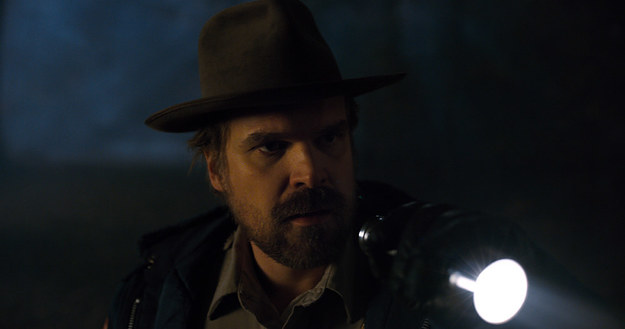 Stranger Things Season Two Chief Hopper
