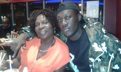 Stormzy and his mum: Instagram