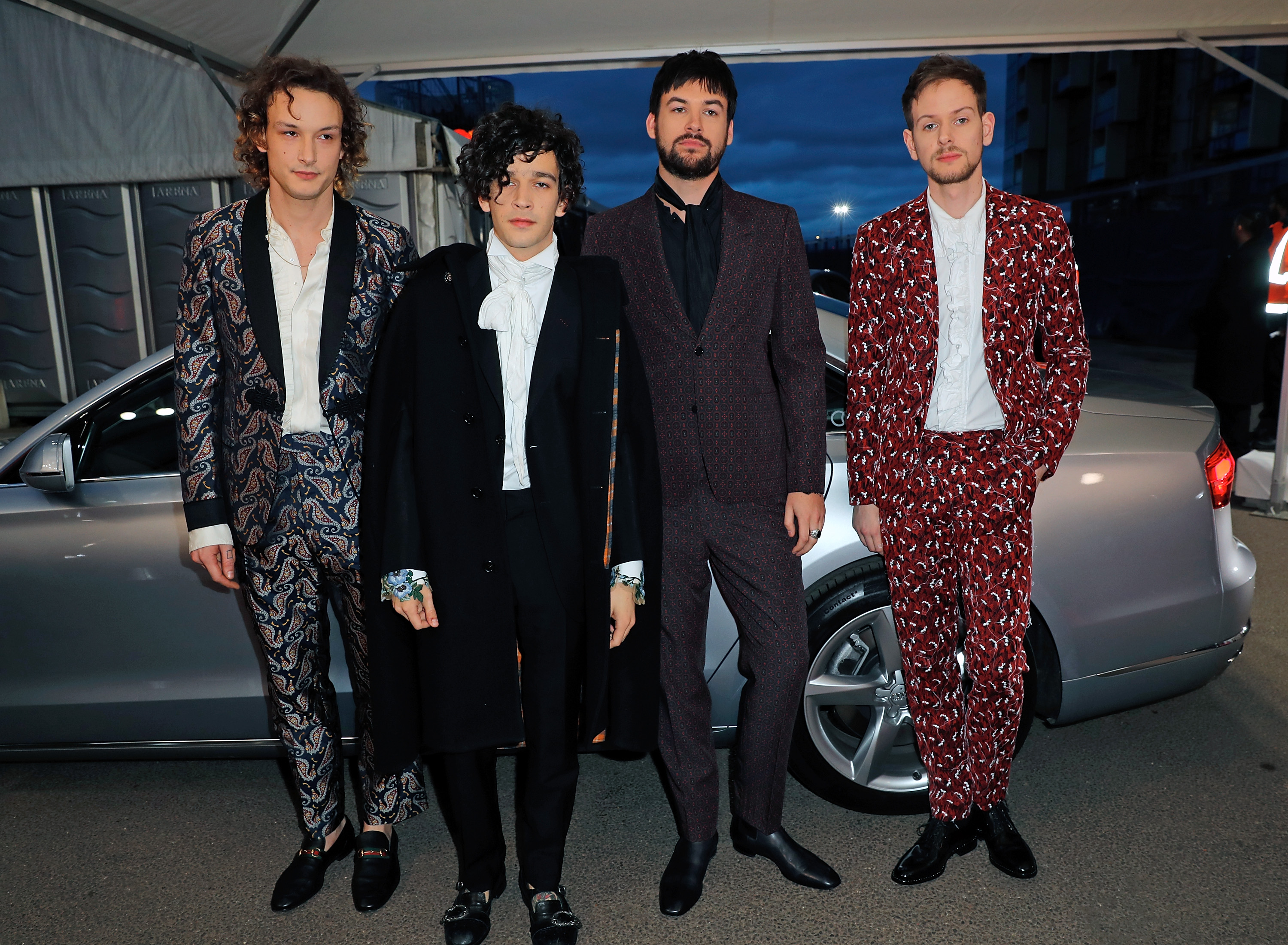 The 1975 BRITs 2017 Red Carpet Arrivals